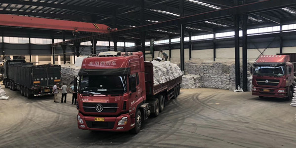今天发聚合氯化铝34吨到河北河间市