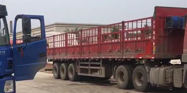 絮凝剂-聚合氯化铝25吨发往山西侯马装货现场