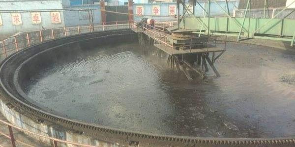 山西大同洗煤厂污水处理案例